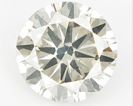 0.51 cts , Round Brilliant Cut , Light Colored Diamond