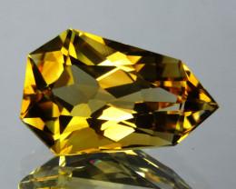8.72 cts Wonderful Fancy Cut Natural Citrine  Loose Gemstone