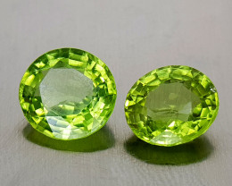 4.15Crt Peridot Natural Gemstones JI136