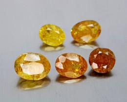 6.85Crt Mali Garnet Lot Natural Gemstones JI136