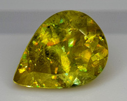 2.35Crt Sphene Color Change  Natural Gemstones JI136