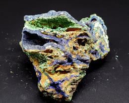 1785Crt Azurite & Malachite Specimen 105 Natural Gemstones JI136