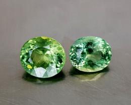 3Crt Green Apatite  Natural Gemstones JI136