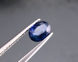 0.98Cts  Blue Sapphire  from TOPAZ GEMS