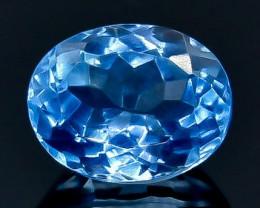 5.34 Crt Natural  Topaz Faceted Gemstone.( AB 89)