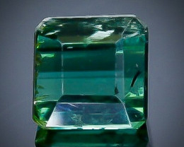 0.94 Crt Natural  Tourmaline Faceted Gemstone.( AB 89)