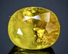 0.83 Crt Natural  Sphene Faceted Gemstone.( AB 89)