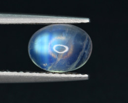 Natural Moon Stone 1.58 Cts Good Color Play Gem