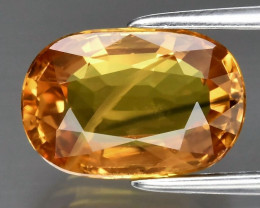 Stunning! 3.11 ct Natural Earth Mined Yellow Sapphire, Thailand