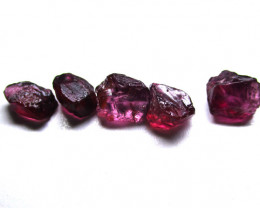 20.19tcw Natural Rhodolite Garnet Facetable