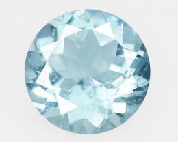 Aquamarine 1.10 Cts Blue Natural Loose Gemstone