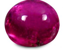 Rubilite Tourmaline 1.95 Cts Pinkish Red Cabochon BGC973