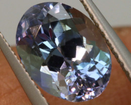 2.10 CTS  TANZANITE  FACETED  STONE   PG-3535