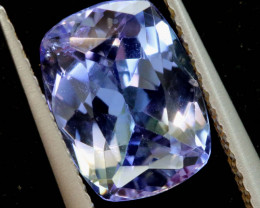 1.85 CTS  TANZANITE  FACETED  STONE   PG-3536