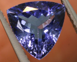 1.55 CTS  TANZANITE  FACETED  STONE   PG-3538