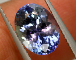 2.80 CTS  TANZANITE  FACETED  STONE   PG-3539