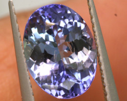 2.10 CTS  TANZANITE  FACETED  STONE   PG-3546