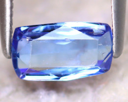 Tanzanite 1.00Ct Natural Purplish Blue Tanzanite E2414/D3