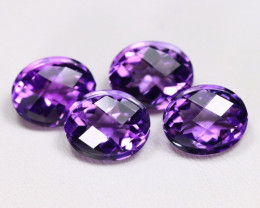 Amethyst 17.66Ct VVS Designer Cut Natural Purple Amethyst Lot C2112
