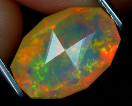 Welo Opal 2.46Ct Master Cut Natural Ethiopian Play Color Welo Opal C2113