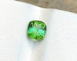 1.25 Ct Natural Greenish Blue Transparent Tourmaline Gemstone
