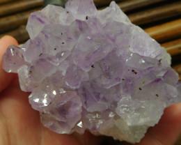 Gemstone amethyst cluster spicemen