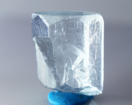 9.30 CTs Natural & Unheated~Blue Aquamarine Crystal