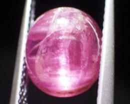 3.71 ct Cabochon Cat's Eye Pink Tourmaline