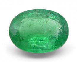1.94 ct Oval Russian Emerald