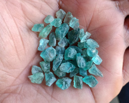 50 Ct Natural Apatite Rough Gemstone Wholesale Parcel VA3969