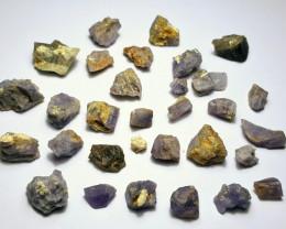 Amazing Natural color Rough Scapolite parcel 100Cts F-1