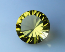 3.40 CTs Natural & Unheated~Yellow Cirtine Concave Cut Gemstone