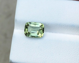 2.70 Ct Natural Greenish Blue Transparent Tourmaline Gemstone