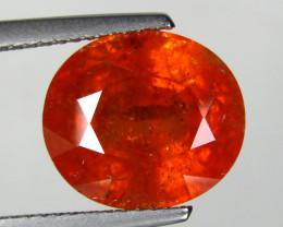 9.35 cts Genuine Oval Shape Natural Reddish Orange Spessartite Garnet  Loos