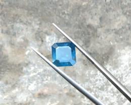 2.85 Ct Natural Dark Blue Transparent Tourmaline Gemstone
