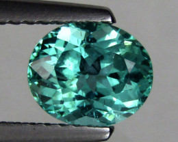 1.47 cts Delightful Pear Shape Natural Paraiba Greenish Blue Apatite Loose