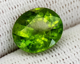 5.22CT PERIDOT BEST QUALITY GEMSTONE IIGC01