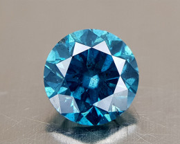 0.93CT BLUE DIAMOND  BEST QUALITY GEMSTONE IIGC01