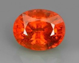 4.90 CTS~EXQUISITE NATURAL UNHEATED ORANGE-COLOR SPESSARTITE GARNET!!