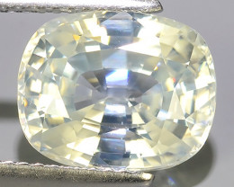 6.70 CTS EXTREME CUSHION NATURAL WHITE ZIRCON EXCELLENT GEM!!