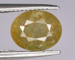1.45 CTS Natural Yellow Sapphire Gem