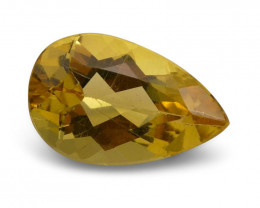 1.95 ct Pear Heliodor / Golden Beryl