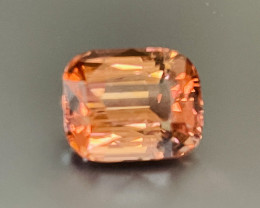 11.13 ct pinkish orange tourmaline.  No Treatments.