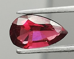 Mogok Spinel from Burma, 0.68ct, a drop that falls down into your jewelry!