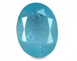 Grandidierite 1.34 Cts Neon blue Step cut BGC1124