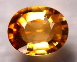 Tourmaline 1.86Ct Natural Golden Yellow Tourmaline D2506/B48