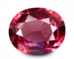 Spinel 0.9 Cts Pink Step cut BGC1448