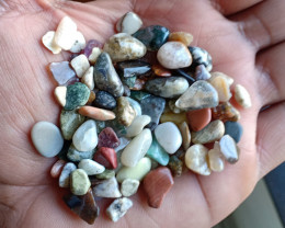 200 Ct mix lot of Natural Tumbled Gemstones VA4008