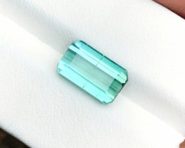 3.80 Ct Natural Blue Transparent Tourmaline Gemstone