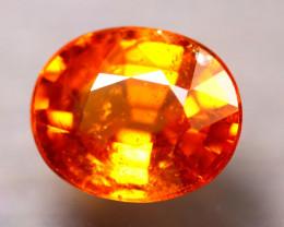 Spessartite Garnet 2.32Ct Natural Orange Spessartite Garnet E2608/B34